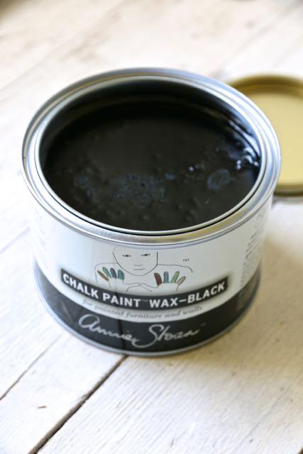Black Wax Annie Sloan Cera Nera