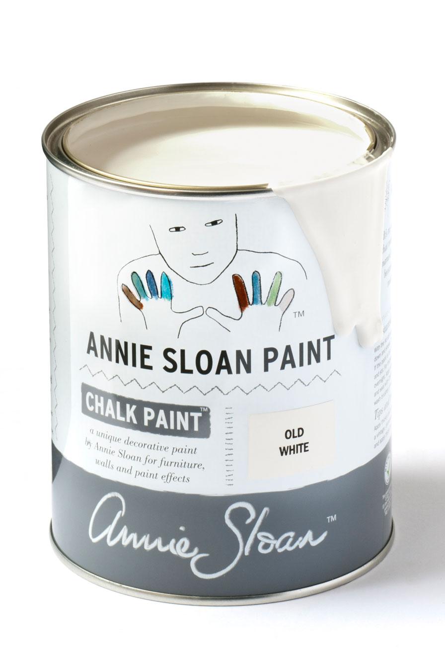 Vernice Chalk Paint Annie Sloan chalk paint annie sloan old white