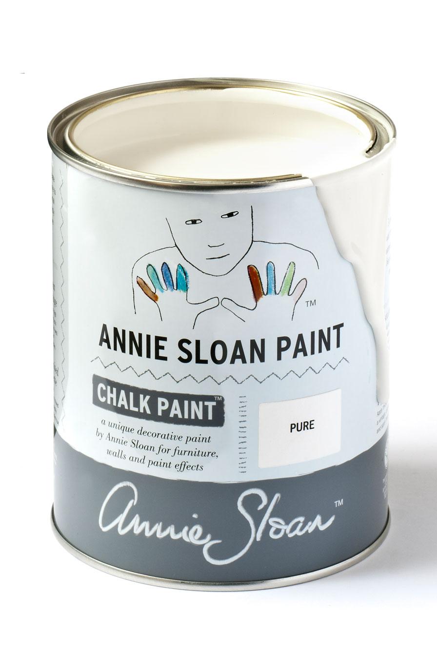 Vernice Chalk Paint Annie Sloan chalk paint annie sloan pure white