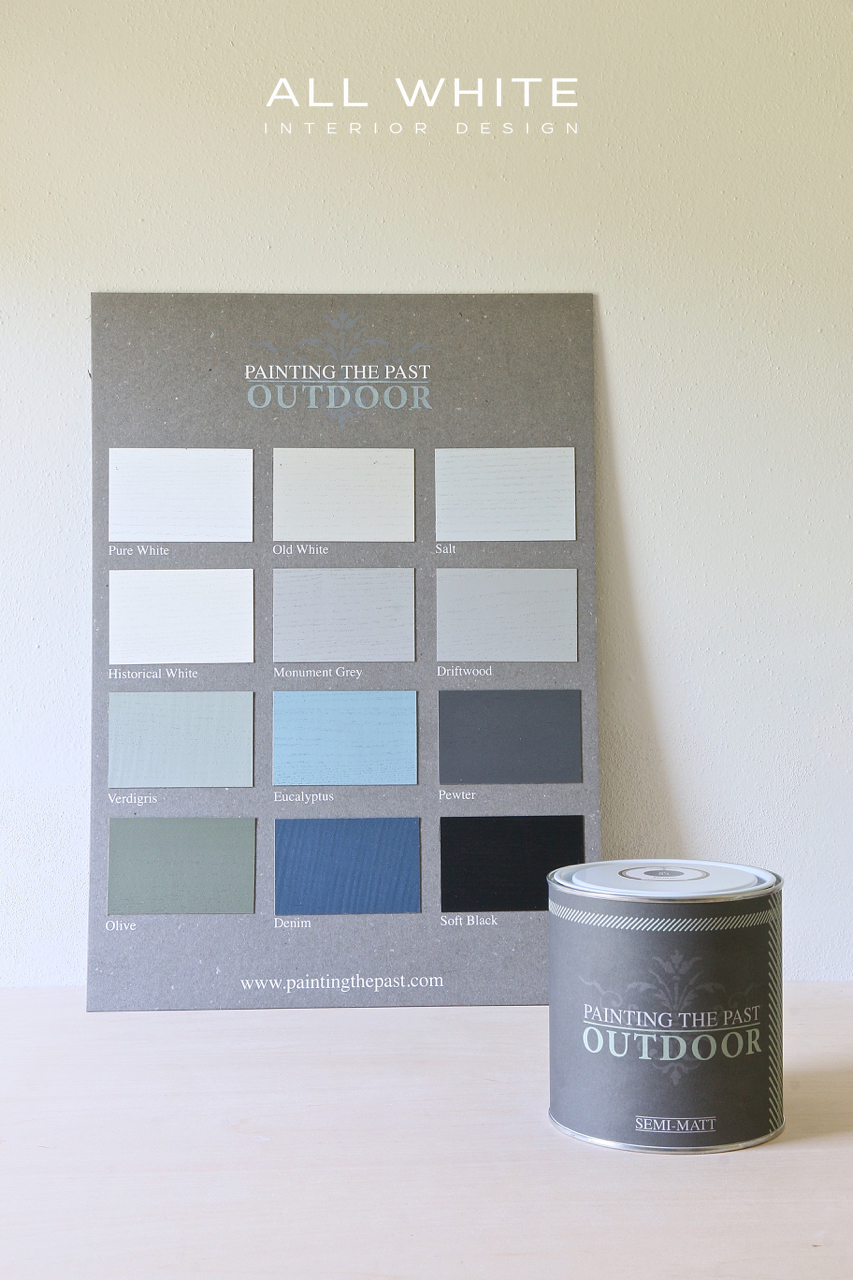 Chalk Paint Per Porte painting the past outdoor - all white