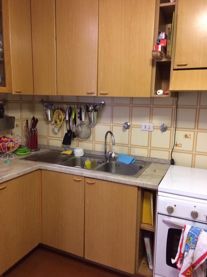 verniciare ante cucina laminato - ALL WHITE