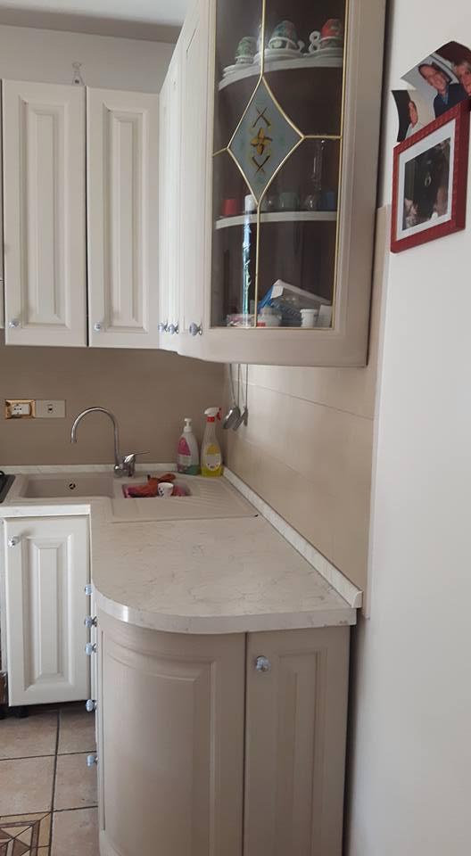 rinnovare cucina in legno - ALL WHITE