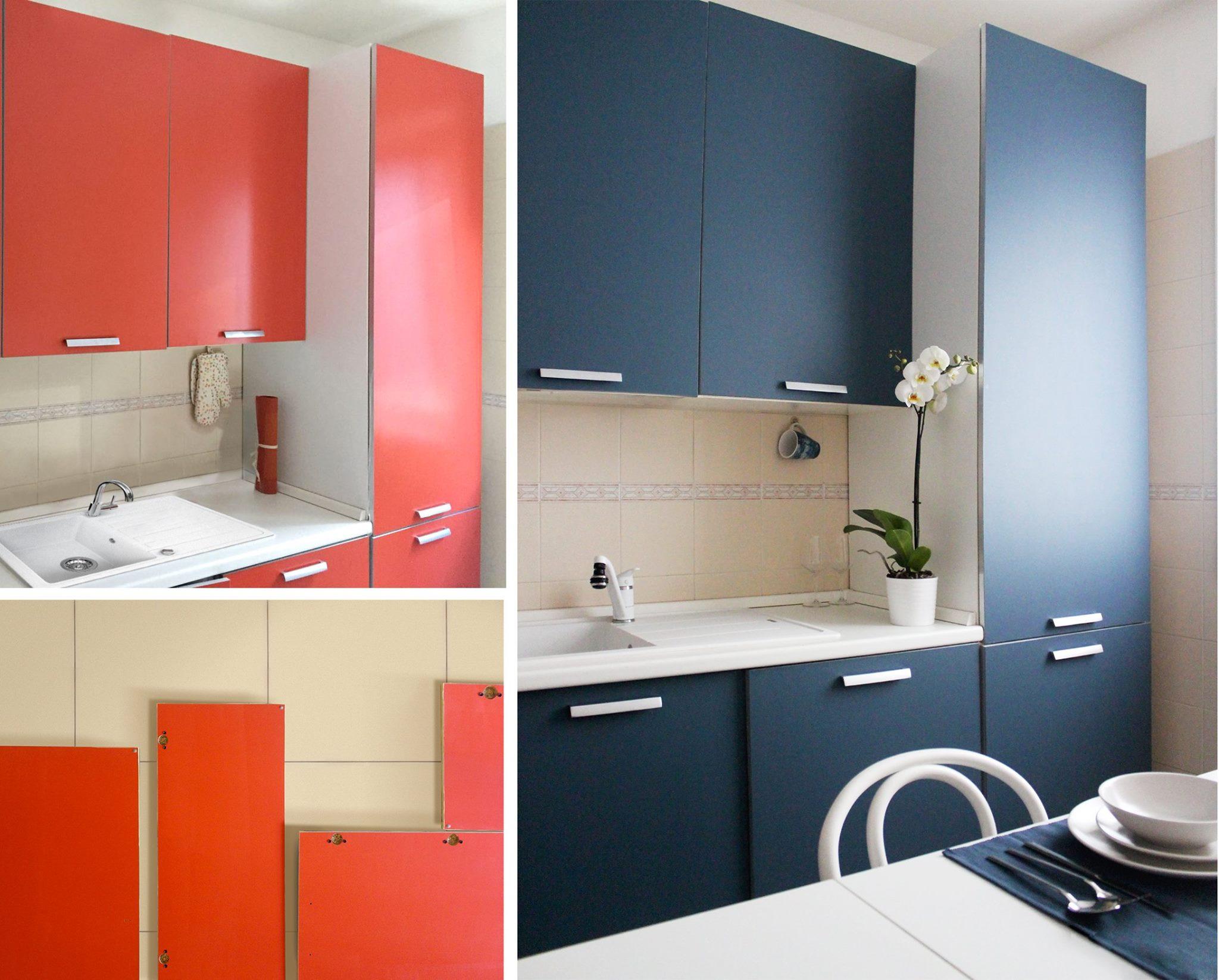 Dipingere Le Porte Di Casa rinnovare la cucina in modo economico, veloce ed ecologico